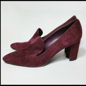 Stuart Weitzman Pumps Pointed Toe Suede Sz 11 10.5